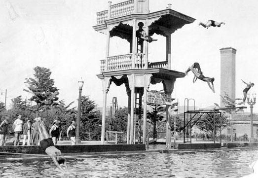 Historysmith The Fleishhacker Pool Tower